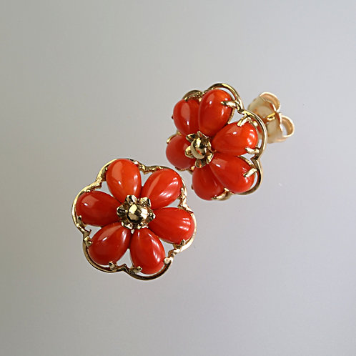 CORAL EARRING 15