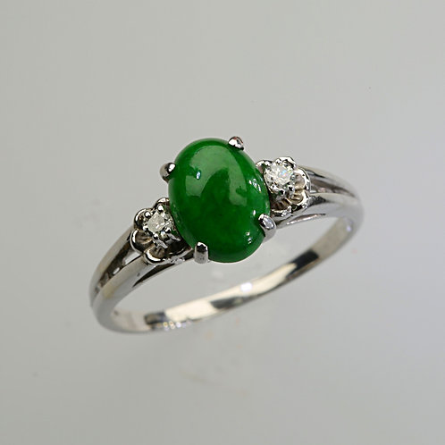 IMPERIAL JADE RING 56