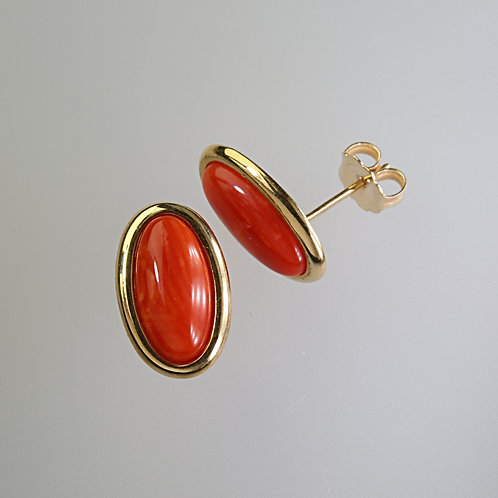 CORAL EARRING 20