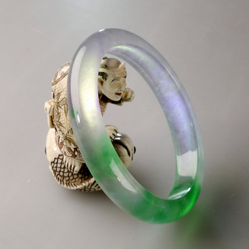 IMPERIAL JADE BANGLE