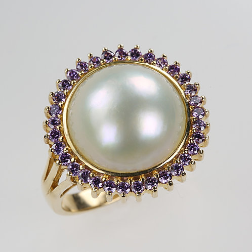 MABE PEARL RING 5