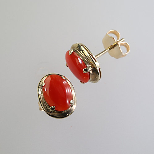 CORAL EARRING 24