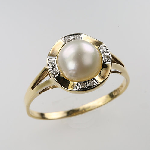 MABE PEARL RING 36