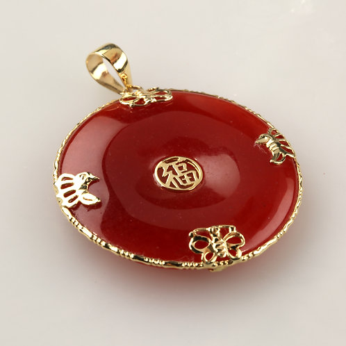 RED JADE PENDANT