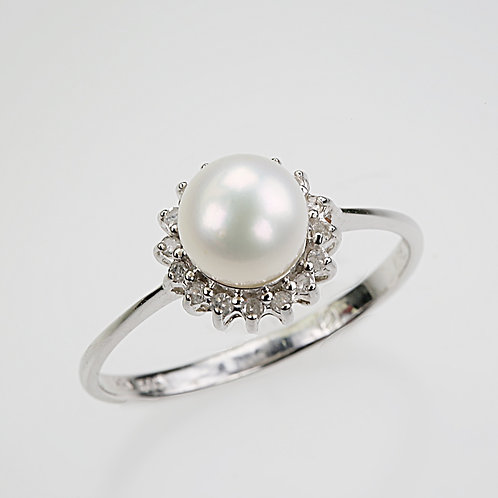 CULTURED PEARL RING 35