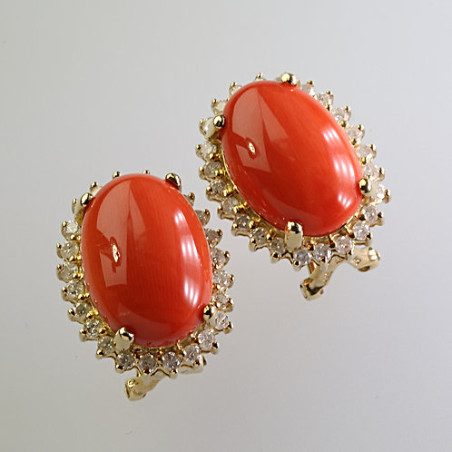 CORAL EARRING 2