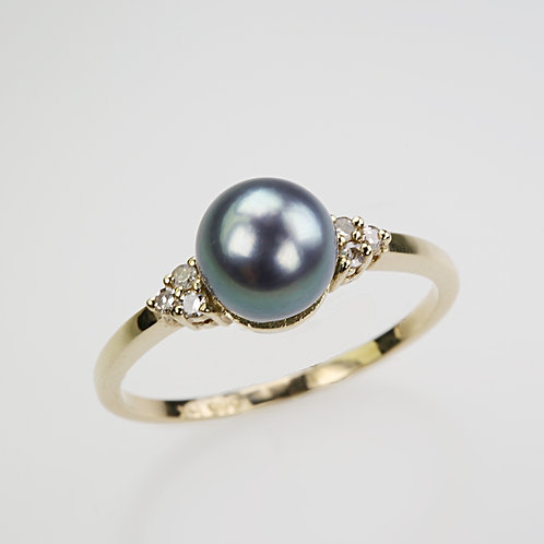 CULTURED PEARL RING 30