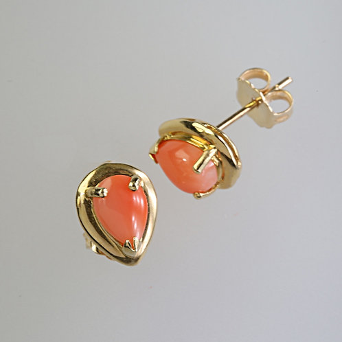 CORAL EARRING 36