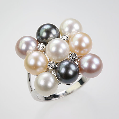 CULTURED PEARL RING 1