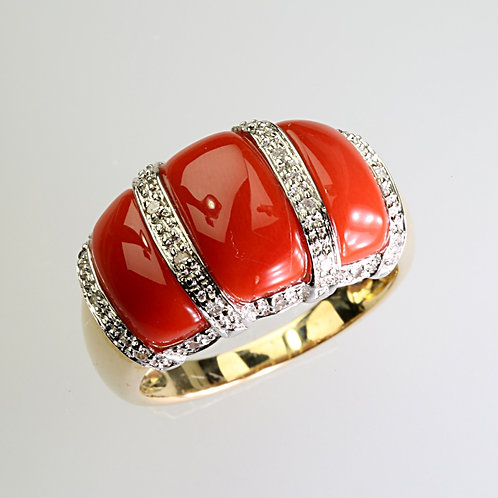 CORAL RING 18