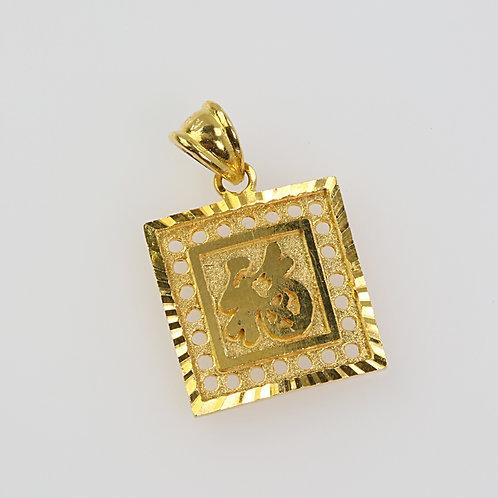 GOLD PENDANT 13