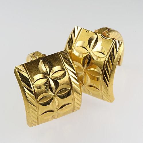 GOLD EARRING 1