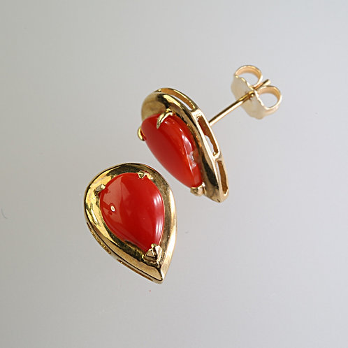 CORAL EARRING 21