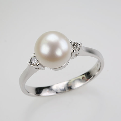 CULTURED PEARL RING 26