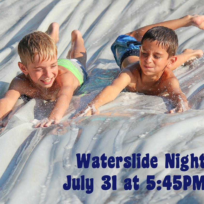 Waterslide Night