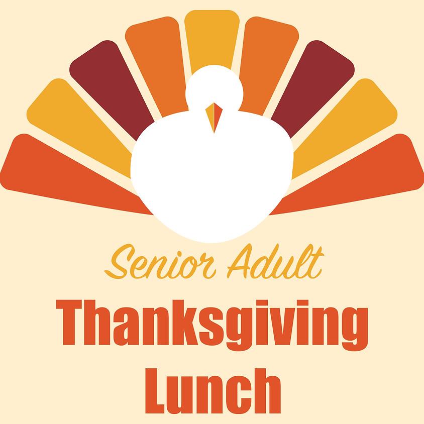 Senior Adult Thanksgiving Lunch