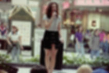 Crystal singing at the Galleria.JPG