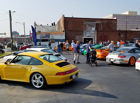 Isringhausen Cars and Coffee Event Draws 100+ Participants
