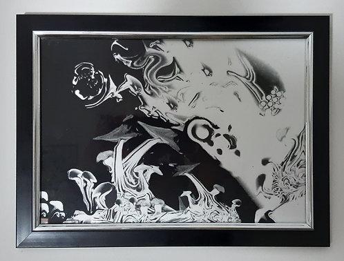 Physical Gone Framed Digital Art Print