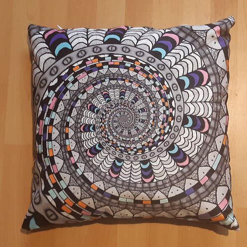 Spiral Feather Pillow