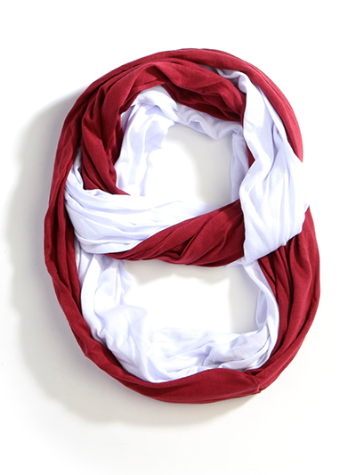 collegiate infinity scarf cateandclaires