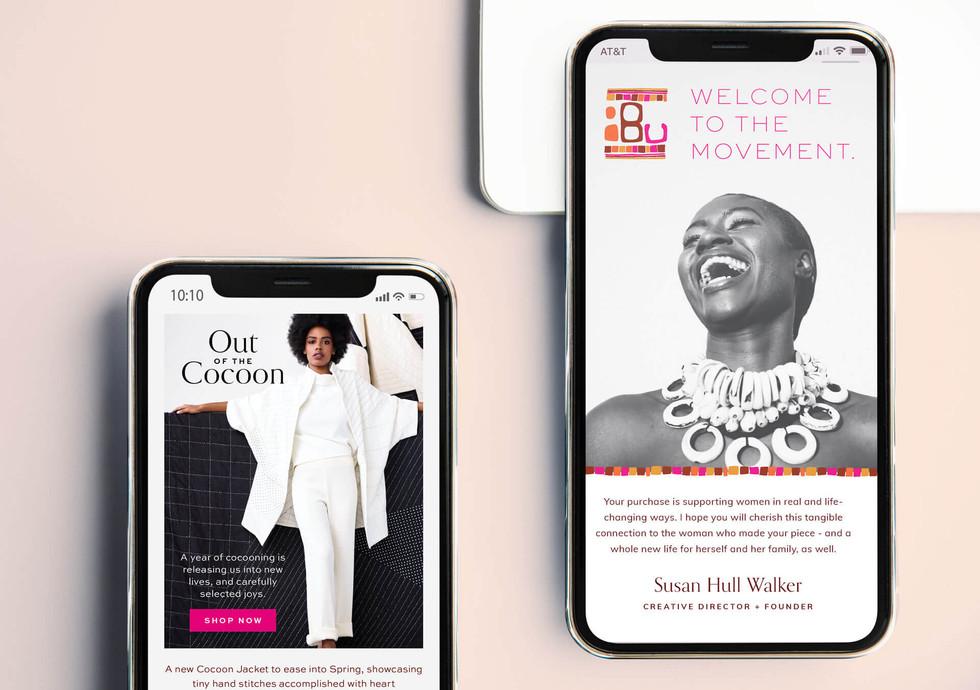 Ibu Movement Email Template Designs