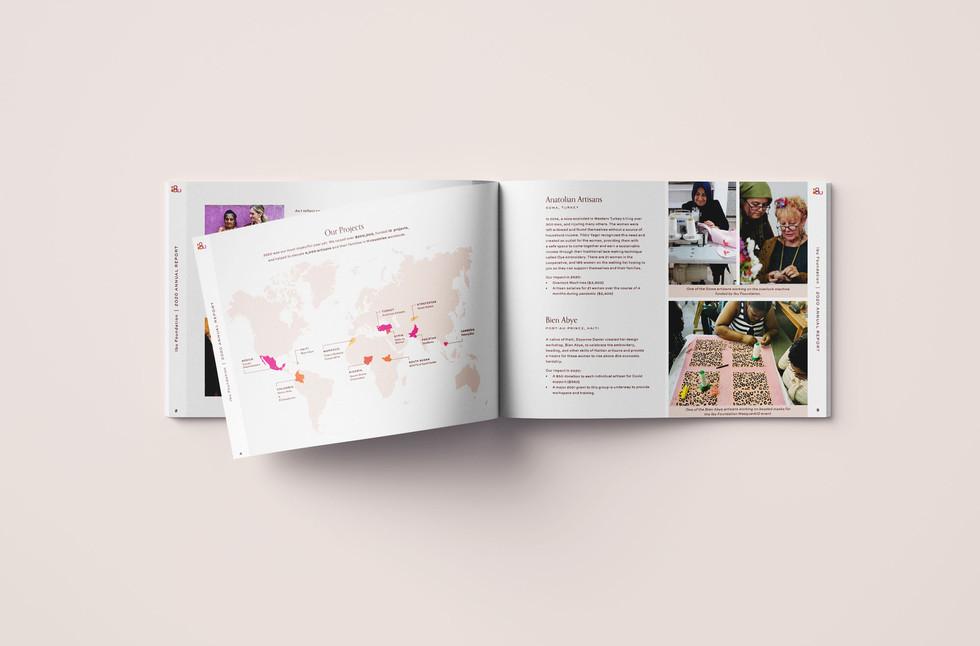 Ibu Annual Report Design