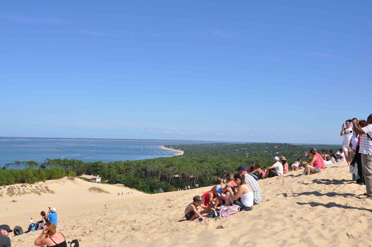Sand dunes near Arcachon