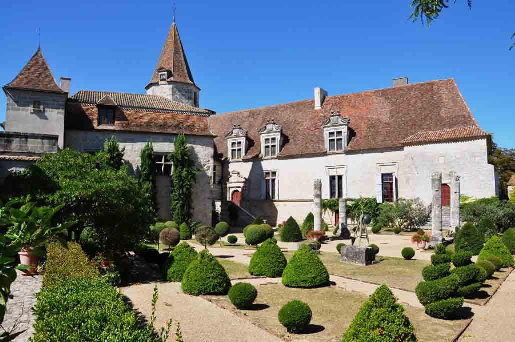 Chateau in Lauzun
