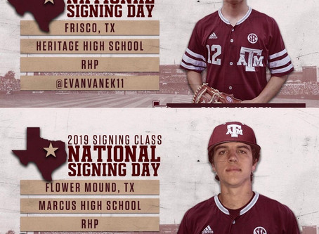 USA Prime 2019 Players on Early Signing Day