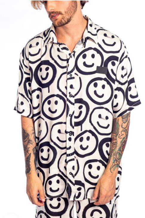 camisa alltribe smile branca 565