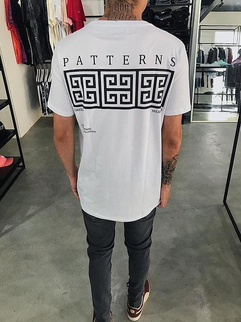 Camiseta Long Patterns Cultures Branca 250