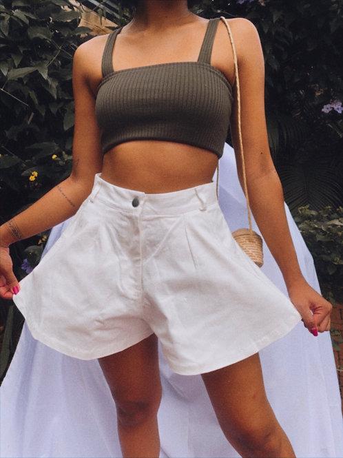 Shorts Jeans Gode Branco