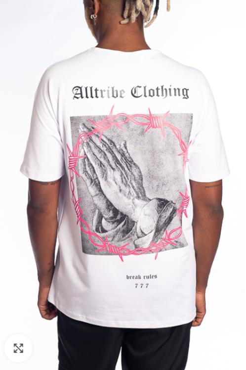 Camiseta Long 777 Branca, Alltribe 53