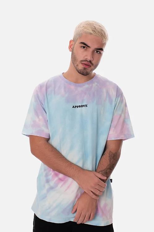 Camiseta Tie Dye Azul/Roxo 48