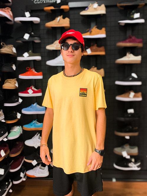 Camiseta Hocks Montanhas Amarela 33