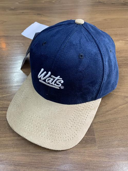 Boné Dad Hat Azul Camurça, Wats 1177