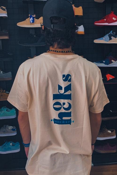 Camiseta Hocks Bege/Blue 140