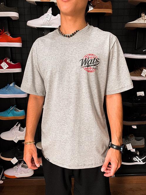 Camiseta Wats Mundi Cinza 10