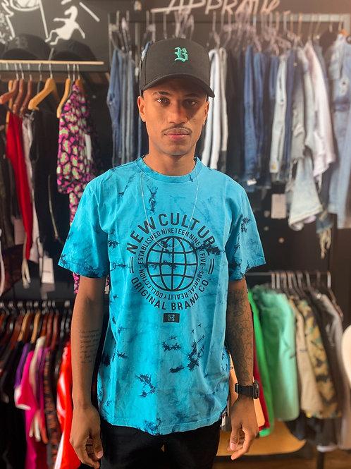 Camiseta Tie Dye Azul 234