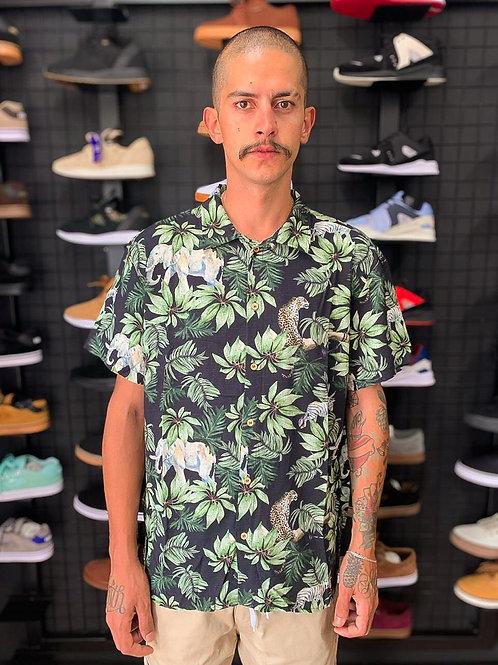 Camisa Floral Black 582