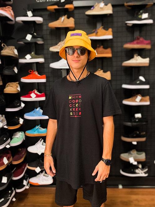 Camiseta H O C K S Black/Vr 34