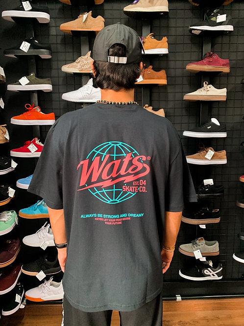 Camiseta Wats Mundi Preta 37