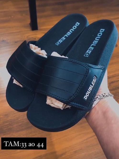 Chinelo Slide Velcro double-G 650