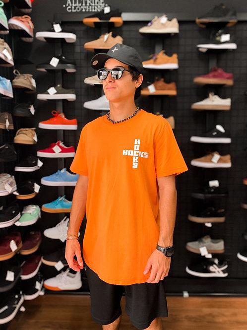 Camiseta Hocks Laranja Cruz 24
