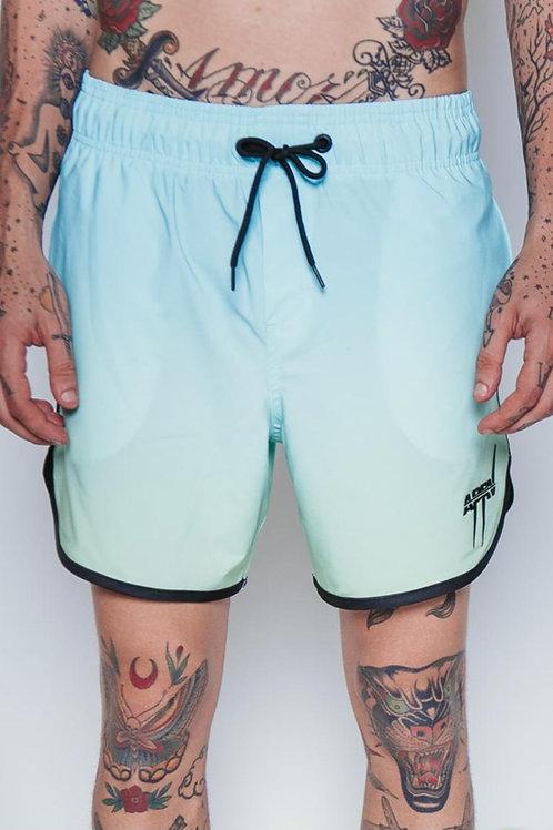 Shorts Approve Spike Degradê Azul