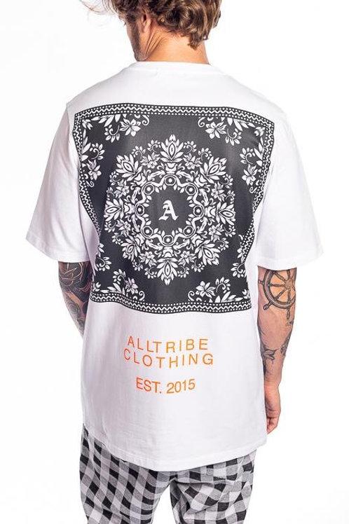 Camiseta Long alltribe branca 57