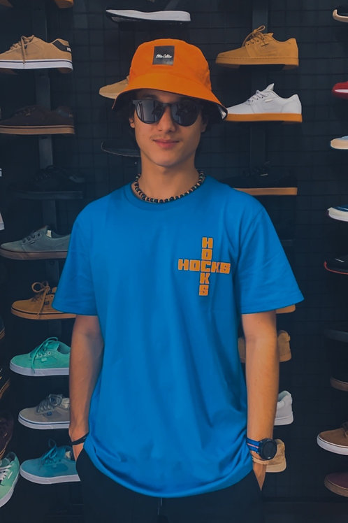 Camiseta Hocks Cruz Azul/Laranja 138