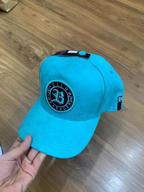 Boné Suede Azul Água 749