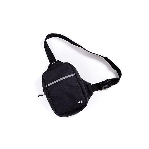 Shoulder Bag Refletiva Preta, Hocks 690